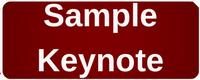 Robert Murray Sample Keynote button
