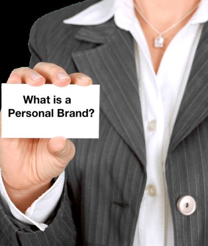 personal branding card
